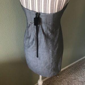 bebe Dresses - 1 hr SALE Bebe strapless silk dress